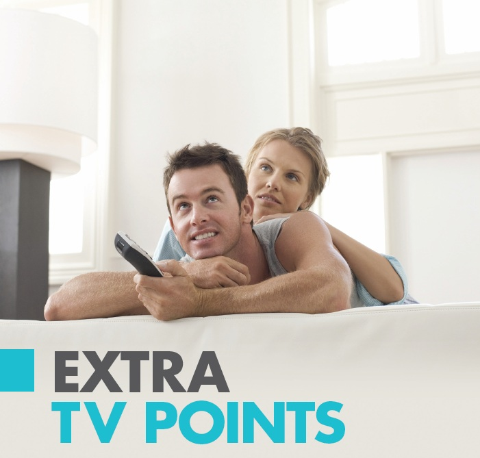4. extra tv points