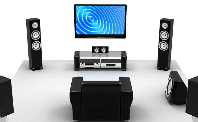 nerang home theatre speaker setup
