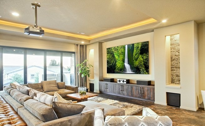 Home Theatre Installers Bris; Projector Installations; Sound Proof Media  Room ...