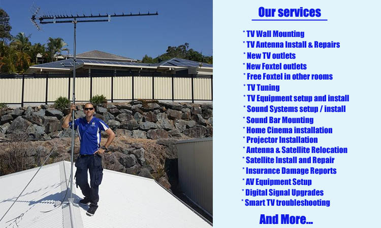 elanora tv aerial signal booster gold coast