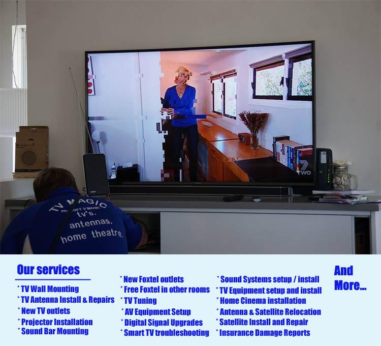 Yatala TV Aerial Signal Booster, Antenna Amplifier, Fix