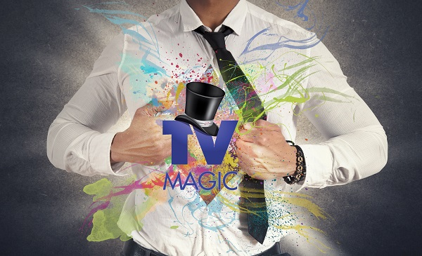 Magic begins within logo