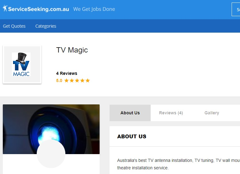 service seeking tv magic reviews