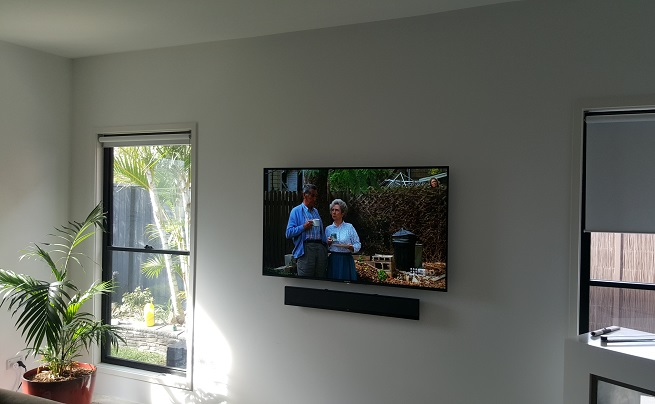 wall mounting tv magic